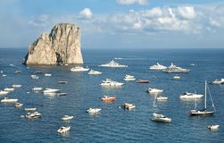 Capri island Royalty Free Stock Photos