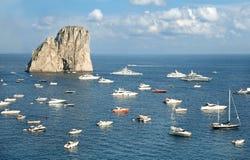 Capri island royalty free stock photos
