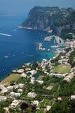 Capri Island. Summer day in Capri Island royalty free stock photography