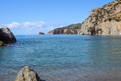 Capri island in a beautiful summer day in Italy Royalty Free Stock Photo