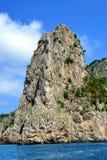 Capri island - Campania region of Italy, Europe. Stock Photos