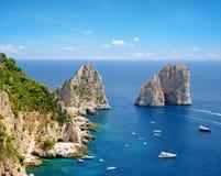 Capri island, Campania region of Italy. Royalty Free Stock Image