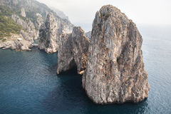 Faraglioni di Capri Royalty Free Stock Photography
