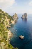 Capri Island  - Island of Love Royalty Free Stock Photos