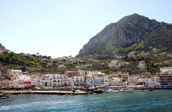 Capri island - Italy Royalty Free Stock Image