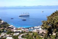 Capri island - Italy Stock Photography