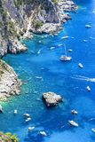 Capri island, Italy stock images
