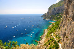 Capri island - Italy, Europe Royalty Free Stock Images