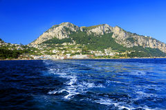 Capri Island, Italy, Europe. Capri Island - luxurious touristic destinationin Europe stock photo