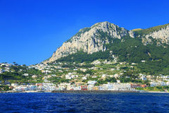 Capri Island, Italy, Europe. Capri Island - luxurious touristic destinationin Europe stock photography
