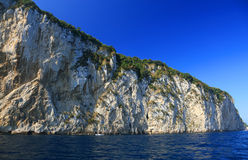 Capri Island, Italy, Europe. Capri Island - luxurious touristic destinationin Europe royalty free stock photo