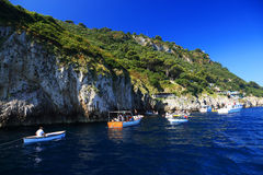 Capri Island, Italy, Europe Royalty Free Stock Images