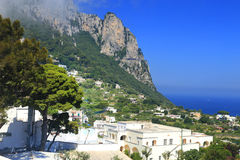 Capri Island, Italy, Europe. Capri Island - luxurious touristic destinationin Europe royalty free stock images