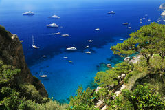 Capri Island, Italy, Europe Royalty Free Stock Photos