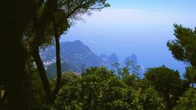 Capri island, Italy stock video