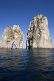 Capri island - Italy - Faraglioni Stock Image