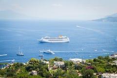 Capri island, Italy Royalty Free Stock Photos