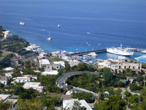 Capri island in Italy. Royalty Free Stock Photo