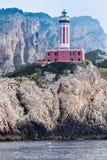 Capri Island Lighthouse Stock Photos