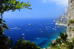 Capri Island Royalty Free Stock Photo