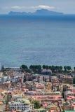 Capri Island and Naples bay, Italy Stock Photo
