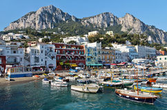 Capri island Royalty Free Stock Image