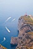 Capri Island panorama Royalty Free Stock Photos