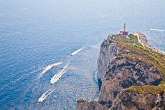 Capri Island Panorama Royalty Free Stock Photo