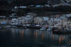Free Capri Island Port At Down Stock Photography - 144751842