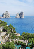 Capri island, summer view Stock Photo