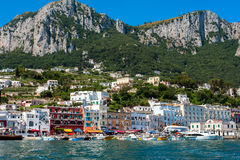 Capri island view Royalty Free Stock Photography