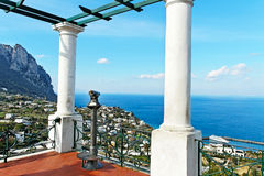 Capri island. Royalty Free Stock Images