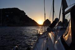 Capri Italië Stock Foto