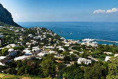 Capri, Italië Stock Afbeelding