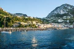 Capri, Italia imagen de archivo