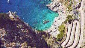 Capri, Italia imagenes de archivo