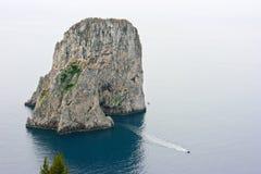Capri, Italia, gruta azul Foto de archivo libre de regalías