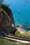 Capri, Italie Images libres de droits