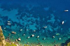 CAPRI ITALIEN, EUROPA Arkivfoto