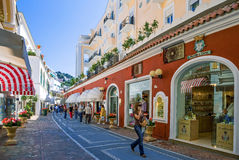 Capri royalty free stock photos