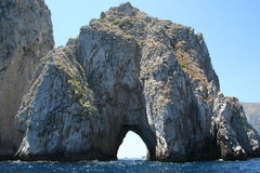 Capri Italy Faraglioni. Enchanting Faraglioni to Capri Italy Europe / Crystal-clear water Stock Photography