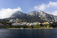 Capri in Italy Royalty Free Stock Images