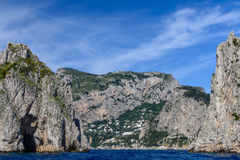 Capri, Italy - June 10: Capri Island on June 10, 2016 in Capri, stock photos