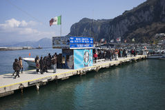 Capri, Italy Royalty Free Stock Photo