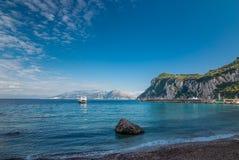Capri. Italy. Royalty Free Stock Image