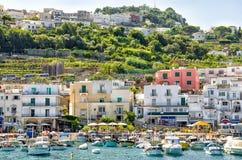 CAPRI, ITALY. Capri town, Capri island ,Italy Stock Photography