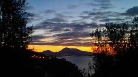 Capri Küste Stockbild