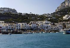 Capri Marina Grande Stock Photography