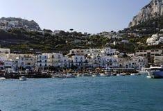 Capri Marina Grande Stock Photography
