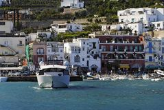 Capri Marina Grande Royalty Free Stock Photo